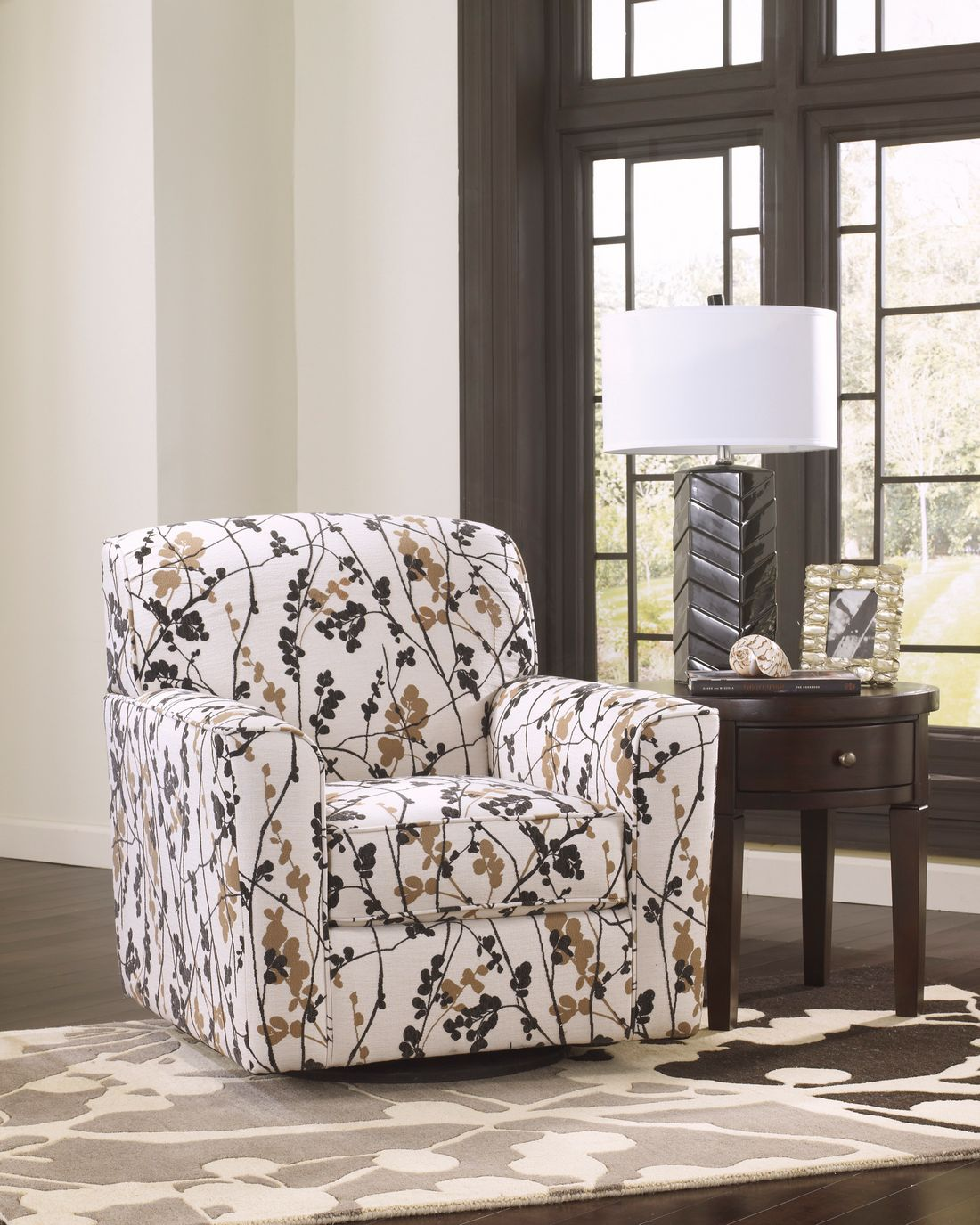 swivel accent chairs for living room. u3043 c 96701 44 swivel accent chair Accent Chairs  B Furniture